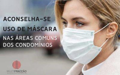 USO DE MÁSCARA NAS PARTES COMUNS