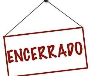 ESCRITÓRIOS ENCERRADOS DIAS 30/11 E 7/12